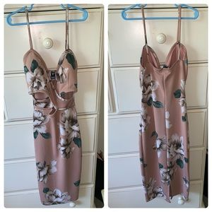 Flattering Floral BodyCon Dress!